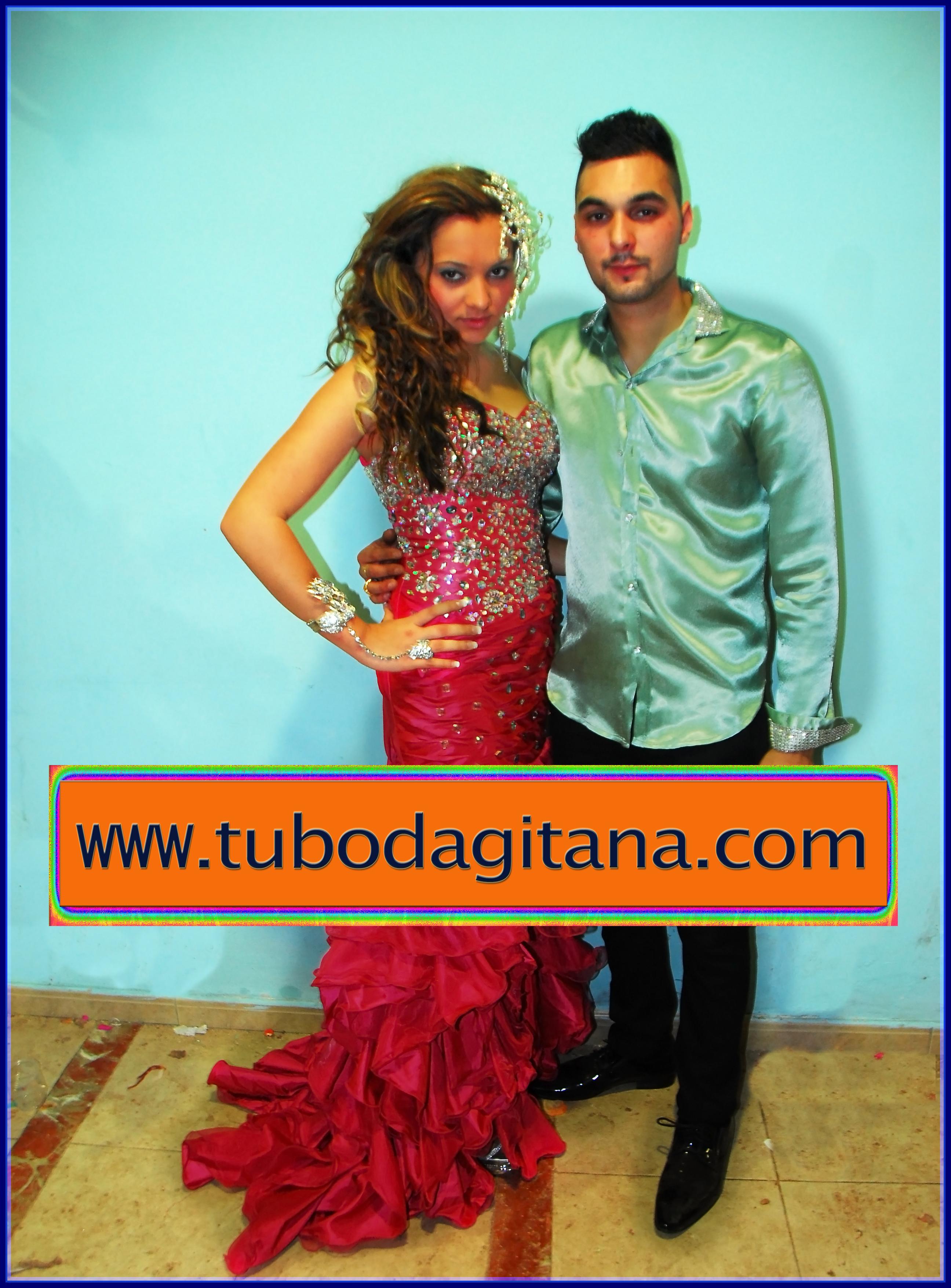 Vestidos de fiesta boda gitana